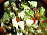 Video: Cucumber, Black Olive and Mint Salad