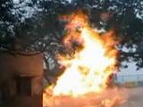 Video : दिल्ली : गेल पाइपलाइन में आग