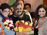 Video : Former Aam Aadmi Party leader Shazia Ilmi Joins the BJP