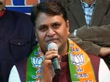 Video : Former AAP Lawmaker Vinod Kumar Binny Joins BJP
