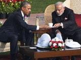 Video : Walk and Chai Break for PM Modi and Barack Obama