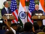 Video : PM Modi and Barack Obama Announce Nuclear Deal