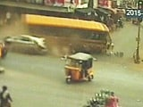 Video : Bus Mows Down 3 on Its Way to Jagan Reddy's Rally in Andhra Pradesh