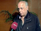 Video: Mahesh Bhatt: It's Important to Create a Support System for Cancer Patients