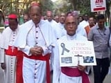 Video : Thousands Protest on Bengaluru Streets Against Delhi Church Attacks