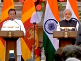 Video : PM Modi's Joint Presser With Sri Lankan President