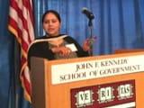 Video : हार्वर्ड में भाषण को लेकर विवादों में लालू की बेटी