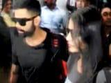 Video : Kohli, Anushka Arrive in Kolkata for IPL Opening Ceremony