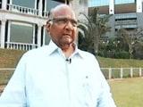 Video: गुटखा खाने से मुझे कैंसर हुआ : शरद पवार