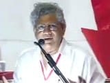 Video : Sitaram Yechury Elected CPM Chief After Veteran Leader Withdraws From Race