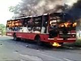 Video : अमेठी : बस में आग लगने से 9 लोगों की मौत
