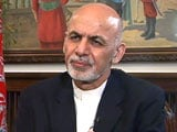 Video: 'Don't Make Us a Proxy War Battleground': Afghan President Ashraf Ghani to NDTV