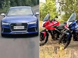 Pulsar As 150 & 200, Audi RS7 Exclusive & Mercedes-Benz E Carbrio