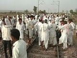 Video : 2 Mumbai-Delhi Rajdhani Among Trains Diverted as Gujjars Protest on Rail Tracks in Rajasthan