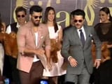 Video : At IIFA, Arjun and Anil Kapoor Steal the Show