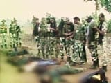 Video : 12 Suspected Naxals Killed in Encounter With Police in Jharkhand