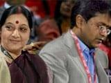 Video : In Lalit Modi Row, Opposition Demands Sushma Swaraj's Resignation, Targets PM Modi