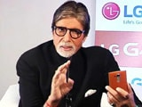 Video: The 'Shahenshah' on Cell Guru