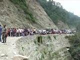 Video : At Least 30 Killed In Massive landslides in Darjeeling, 20 Missing