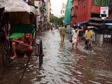Video : Knee-High Water After Overnight Rain Drowns Kolkata's Roads