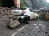 Video : 3 Dead in Landslide on Mumbai-Pune Expressway, Traffic Diverted