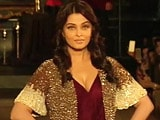Video : Aishwarya Makes Catwalk Comeback After Five Years