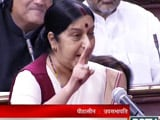 Video : Didn't Request UK Government to Help Lalit Modi, Says Sushma Swaraj