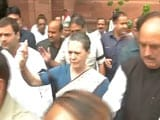 Video : 'Murder of Democracy,' Says Sonia Gandhi on Suspension of Party Lawmakers
