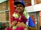 Ranveer Saini Returns Home to Grand Welcome
