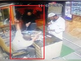 Video : On CCTV, Mumbai Shopkeeper Attacked With Sword, Customer Saved Him
