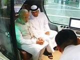 Video : PM Modi Rides Self-Driving Car in Masdar, World's First Zero-Carbon City