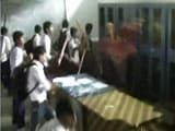 Video : Students in Uniform Run Riot in West Bengal School, Beat Up Teacher