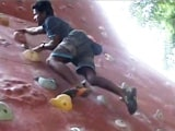 Video : Polio Patient Gunning for Gold at World Para Climbing Championships