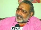 Video : ...तो बिहार में अगड़ा नहीं बनेगा मुख्यमंत्री, गिरिराज के बयान पर बीजेपी चुप्प