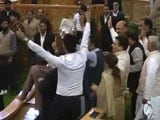 Video : Chaos in Jammu and Kashmir Assembly as Opposition Parties Stage Protest