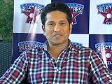Video : Sachin Tendulkar Wants to Promote Cricket Globally
