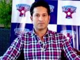 Sachin Tendulkar Wants Cricket Fans to Behave