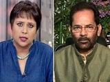 Video: BJP Has Reprimanded Netas Like Sakshi Maharaj: Minority Affairs Minister on Dadri Mob Killing