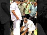 Video : Kerala Speaker in Trouble After Aide Seen Helping Him With Shoes