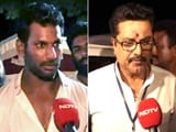 Video : Actor Vishal Reddy Ends Veteran Sarath Kumar's rule in Southern Film Body