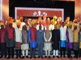 Video : भारत-अफ्रीका समिट : डिनर में 'मोदी कुर्ते' में पहुंचे मेहमान