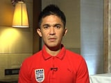 Video : How Can ISL Happen When India Playing World Cup Matches? Chhetri