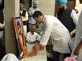 Video : Rahul Gandhi Meets Families of Men Killed in Punjab Firing