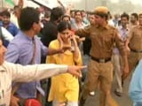 Video : NDTV Reporter Surrounded, Heckled at Protest March