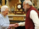 Video : PM Modi at Buckingham Palace for Lunch With the Queen
