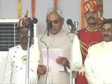 Video : Nitish Kumar Takes Oath as Bihar Chief Minister