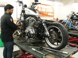 Video: Servicing a High-End Motorcycle