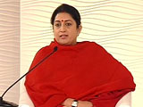 Video: 'Education Can't Be One-Size-Fits-All,' Says Minister Smriti Irani