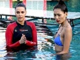 Video: Troubled Waters for Kingfisher Supermodels?