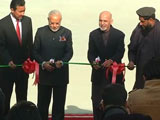 Video : PM Modi Inaugurates New Afghan Parliament Built By India